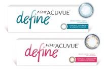 1 Day Acuvue Define - soczewki jednodniowe kolorowe Johnson & Johnson